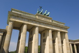 The Brandenburg Gate with the Quadriga Winged Victory Statue on Top Photographic Print by Neale Clarke