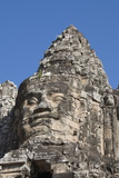 South Gate Enterance to Angkor Thom, Siem Reap, Cambodia Photographic Print by Robert Harding