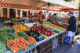 The Morning Fruit and Vegetable Market in Cours Saleya Photographic Print by Amanda Hall