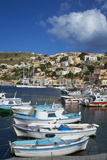 Gialos Harbour, Symi Island, Dodecanese, Greek Islands, Greece, Europe Photographic Print by  Tuul