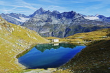Lake at Schwarzsee Paradise, Zermatt, Valais, Swiss Alps, Switzerland, Europe Photographic Print by Christian Kober