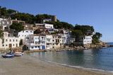 The Beautiful Cove of Sa Tuna, Near Begur, Costa Brava, Catalonia, Spain, Mediterranean, Europe Photographic Print by Robert Harding