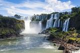 Foz De Iguazu, Largest Waterfalls, Iguazu National Park Photographic Print by Michael Runkel