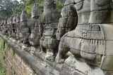 Southern Causeway of Angkor Thom Photographic Print by Jean-Pierre De Mann