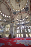 Interior, Fatih Mosque, Istanbul, Turkey, Europe Photographic Print by Neil Farrin