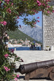 Views of Perast from Our Lady of the Rocks Photographic Print by Charlie Harding