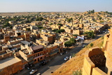 View from the Fortifications, Jaisalmer, Rajasthan, India, Asia Photographic Print by  Godong