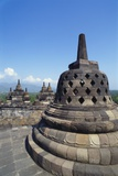 Buddhist Temple, Borobudur, Java, Indonesia Photographic Print by Robert Harding