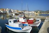 Hora, Harbour, Pigadia, Karpathos Island, Dodecanese, Greek Islands, Greece, Europe Photographic Print by  Tuul