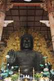 Todaiji Big Buddha Temple Constructed in the 8th Century Photographic Print by Christian Kober