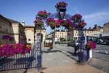 Summer Flower Display at Saltburn Station Photographic Print by Mark Sunderland