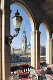 Alsterarkaden and the City Hall, Hamburg, Germany Photographic Print by Hans-Peter Merten