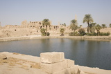 Sacred Lake, Temple of Karnak, Karnak Photographic Print by Philip Craven