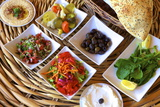 Meze Dishes, North Cyprus, Cyprus, Europe Photographic Print by Neil Farrin