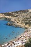 Paradise Bay, Malta Photographic Print by Jeremy Lightfoot
