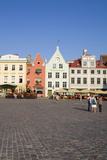 Architecture in Raekoja Plats (Town Hall Square) Photographic Print by Doug Pearson
