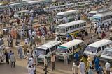 Great Mosque Area, Khartoum, Sudan, Africa Fotografisk tryk af Jean-Pierre De Mann