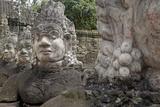 Southern Causeway of Angkor Thom Reproduction photographique par Jean-Pierre De Mann