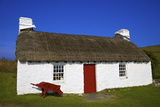 Traditional House, Cregneash, Isle of Man,Europe Photographic Print by Neil Farrin