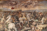 The Battle of the Milvian Bridge in the Hall of Constantine Photographic Print by  Godong