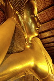 Head of the Large Reclining Buddha Photographic Print by Jean-Pierre De Mann
