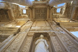 Detail of Library of Celsus, Ephesus, Anatolia, Turkey, Asia Minor, Eurasia Photographic Print by Neil Farrin