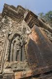 Preah Ko Temple, Ad879, Roluos Group, Nr Angkor, Siem Reap, Cambodia Photographic Print by Robert Harding