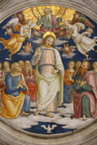 Detail of the Ceiling Showing Jesus and the Apostles Photographic Print by  Godong
