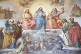 God, Jesus and Mary, Vatican Museum, Vatican, Rome, Lazio, Italy, Europe Photographic Print by  Godong