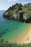 Devon Coast, England, United Kingdom Photographic Print by Duncan Maxwell