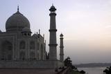 Yamuna River and Taj Mahal, UNESCO World Heritage Site, Agra, Uttar Pradesh, India, Asia Photographic Print by Balan Madhavan