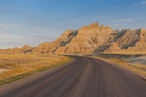 Road Through the Badlands National Park, South Dakota, United States of America, North America Photographic Print by Michael Runkel