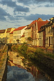Evening Scene in the Old Town of Wismar, Mecklenburg-Vorpommern, Germany, Baltic Sea, Europe Photographic Print by Jochen Schlenker