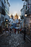 Pedestrian Zone in the Pelourinho Photographic Print by Michael Runkel