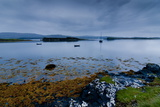 Strange Twilight Seascape of Loch Dunvegan on the Isle of Skye Photographic Print by Charles Bowman