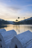 Kandy Lake at Sunrise Photographic Print by Matthew Williams-Ellis