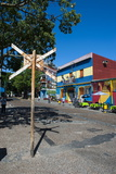 Colourful Houses in La Boca Neighbourhood in Buenos Aires, Argentina, South America Photographic Print by Michael Runkel