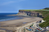 Beach and Huntcliff at Saltburn by the Sea Photographic Print by Mark Sunderland