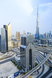 Dubai Cityscape, Dubai, United Arab Emirates, Middle East Photographic Print by Amanda Hall
