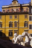 Trevi Fountain Detail, Rome, Italy Photographic Print by John Miller
