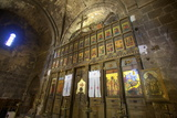 Interior of Bellapais Abbey, Bellapais, North Cyprus, Cyprus, Europe Photographic Print by Neil Farrin