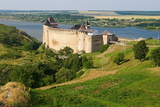 Fort of Khotyn, Chernivtsi Oblast Province, Ukraine, Europe Photographic Print by Bruno Morandi