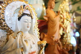 Quan Am, the Bodhisattva of Compassion, Tu an Buddhist Temple Photographic Print by  Godong