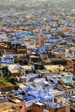 The Blue Buildings of Bundi, Rajasthan, India, Asia Photographic Print by  Godong