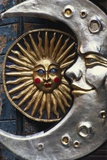 Sun and Moon Venetian Carnival Masks, Italy Photographic Print by Lee Frost