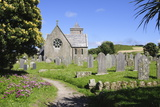 Church, Tresco, Isles of Scilly, Cornwall, United Kingdom, Europe Photographic Print by Robert Harding