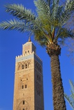 Koutoubia Mosque, Marrakesh, Morocco Fotografisk tryk af Lee Frost