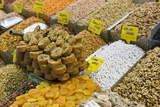 Baklava and Dried Fruit and Nuts for Sale, Spice Bazaar, Istanbul, Turkey, Western Asia Photographic Print by Martin Child