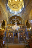 Interior of St. Mamas Monastery, Guzelyurt, North Cyprus, Cyprus, Europe Photographic Print by Neil Farrin