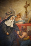 Rita of Cascia, Patron Saint of the Impossible, Abused Wives and Widows Photographic Print by  Godong
